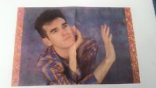 MORRISSEY 'candy striped shirt' Centerfold magazine POSTER  17x11 inches
