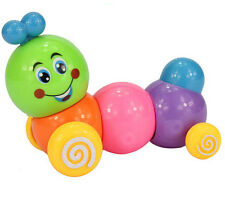 Lovely Kids Baby Developmental Educational Toy Colorful Caterpillar Wind-up Toys