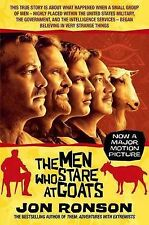 Jon Ronson The Men Who Stare at Goats film tie-in Very Good Book