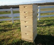 6 Bee Boxes! 2 Cypress Deep Brood Boxes and 4 Medium Honey Supers. Beekeeping.