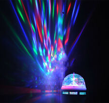 3W E27 RGB LED Rotating Stage Crystal Ball LED Light Lamp for DJ/Disco//Party we