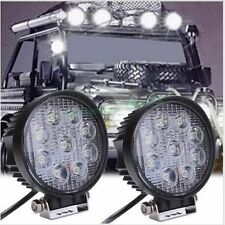 2 X 27W Spot Led Work Light Lamp Bar Boat Tractor Truck Offroad SUV ATV UE