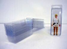 "25 x petite figure loose blister cases 4.5"" x 1.5"" x 1.25"" - star wars/gi joe etc"