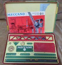 MECCANO NO. 4A -BOX -Intrusctions -MADE IN ENGLAND -CIRCA 1960s-COMPLETE?? RARE