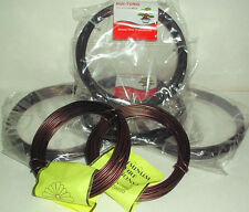 Mixed Japanese and Chinese Quality 100 Gram 3mm Anodized Aluminum Bonsai Wire