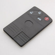 Uncut Keyless Smart Card Remote Key Fob Shell Case Cover For Mazda 4BT RX-8 5 6