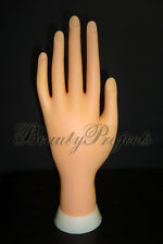 Practice Hand Mannequin for Nail Art Designs Stand Flexiable Bendable Fingers