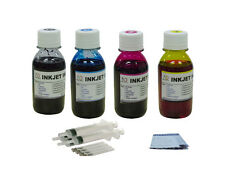 Ink refill kit for HP 63 Deskjet 3630 3631 3632 3633 3634 3636 4x100ml