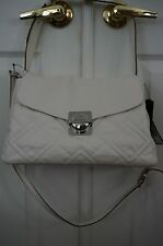 NWT Marc by Marc Jacob Circle in Square Quilted Shoulder Bag in Ivory