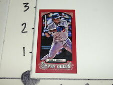 2014 GYPSY QUEEN Juan URIBE #90 Mini Red/99 Los Angeles DODGERS Salem AVALANCHE