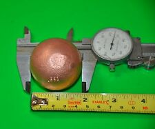 46 mm .999 Copper 1 pound Sphere Ball for plating Natural mineral FAST SHIPPING