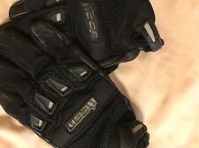 Men's Icon Mesh & Leather Motorcycle Riding Gloves