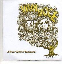 (P834) Viva Voce, Alive With Pleasure - DJ CD