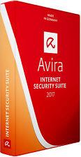 Avira Antivirus Internet Security Suite 2017 3 PCs 1 Year Activation Licence Key