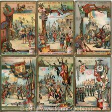 Chromo Liebig Sang. 873 ITA Vessilli Insegne e Bandiere ANNO 1906