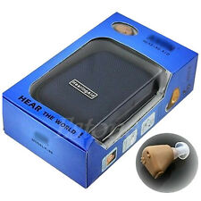 Best Rechargeable Audiphone acousticon In Ear Hearing Aid Aids Sound Amplifier