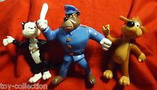 Pif, Herkules und Polizist Farfouille / Scharmützel - 8-10cm - Yolanda 1991 NEU