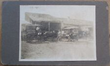 Cuba Bakery/Candy Store Delivery Truck/Cart/Car 1915 Photograph w/Horse - 2