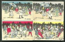 Japan Russo Russia War FIVE postcards China Korea 1905