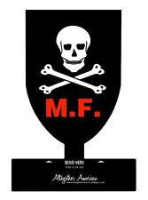 MAC V SOG  Mike Force III Corps Skull Metal Desk Top Sign Special Forces MACVSOG