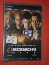 EDISON CITY- verita ha un prezzo- CON:MORGAN FREEMAN-  DVD FILM - sigillato