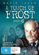A Touch Of Frost : Series 6 (David Jason, 3-Disc Set) new/sealed