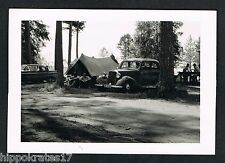 FOTO - PHOTO, Mercedes Auto Kennzeichen Hannover Zelt car voiture Oldtimer tente