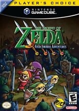 Zelda Four Swords Adventure Nintendo Gamecube Game Complete