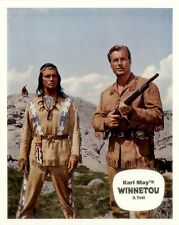 Winnetou 3. Teil ORIGINAL Aushangfoto Karl May / Pierre Brice / Lex Barker SUPER