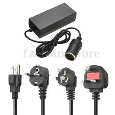 Cigarette Lighter Socket 240V 10A Mains Plug to DC 12V Car Charger Power Adapter