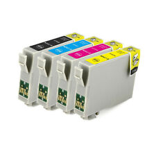 4x ink cartridge 73N T0731-4 for Epson CX5500 NX220 TX610F C110 CX3900 Printer