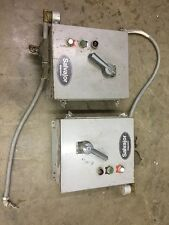 2 Control Boxes Salvajor Waste Garbage Disposal Motor Control