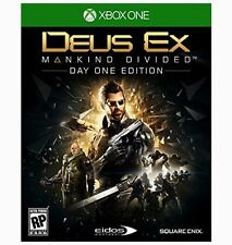 DEUS EX: MANKIND DIVIDED DAY ONE EDITION (XBOX ONE) [NEW GAME]