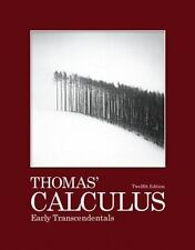 Thomas Calculus 12th Edition: Thomas' Calculus Early Transcendentals by Joel R.…