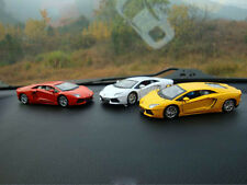 1:36 Lamborghini Car Model Built-in Air Freshener Child Toys Innerspring White