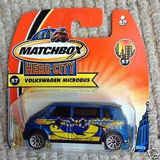Matchbox VW New Bulli Microbus Camper Van - X-Treme Park