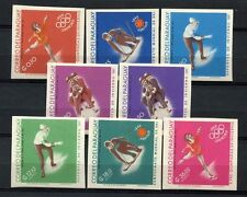 Paraguay 1968 Winter Olympic Games MNH Imperf Set #A40819
