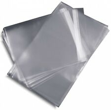 100-Pak =RESEALABLE= Plastic Wrap =SLIM= DVD Sleeves, for 7mm DVD Boxes!