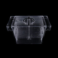 Fish Breeding Isolation Aquarium Hatchery Breeder Fish Incubator Box Tank DSUK