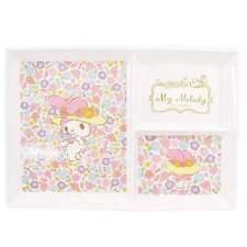 Sanrio My Melody Pink Flower Melamine Divided Plate for Kids Skater Japan New