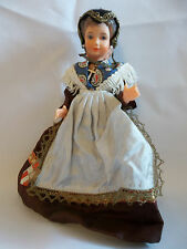 "Vintage Poupee Bella Ethnic Doll Marked ""SAVOIE"" 7"" tall FRANCE"
