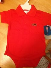 New Oklahoma State Cowboys Newborn Polo Romper 6 Months
