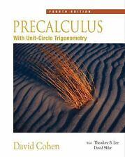 Precalculus: With Unit Circle Trigonometry (with Interactive Video Skillbuilde..