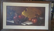 Original Italian Oil Painting of Still Life By Vittoria - V. Muscariello