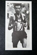 Bikila etiope MARATONA RUNNER Foto Carta in buonissima condizione