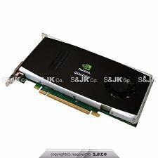 NEW Dell nVIDIA Quadro FX1800 GDDR3 Dual Display 768MB Video Graphics Card P418M