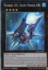 WIRA-EN047 NUMBER 101:SILENT HONOR ARK   SUPER RARE  - 1st Ed - Yugioh Card