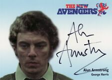 The New Avengers Alun Armstrong as George Harris NA8 Auto Card