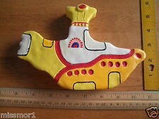 """The Beatles 1990s Yellow Submarine paperweight 7"""" thick"""