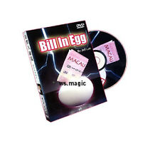 Bill in Egg (Gimmick & DVD) Jeff Lee Magic Trick Close Up Party Show Money FSIM